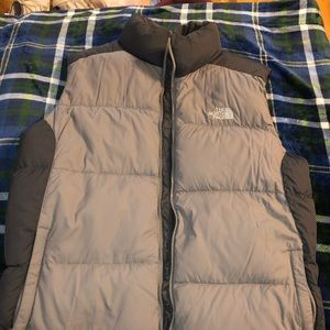 North face quilted puffy vest
